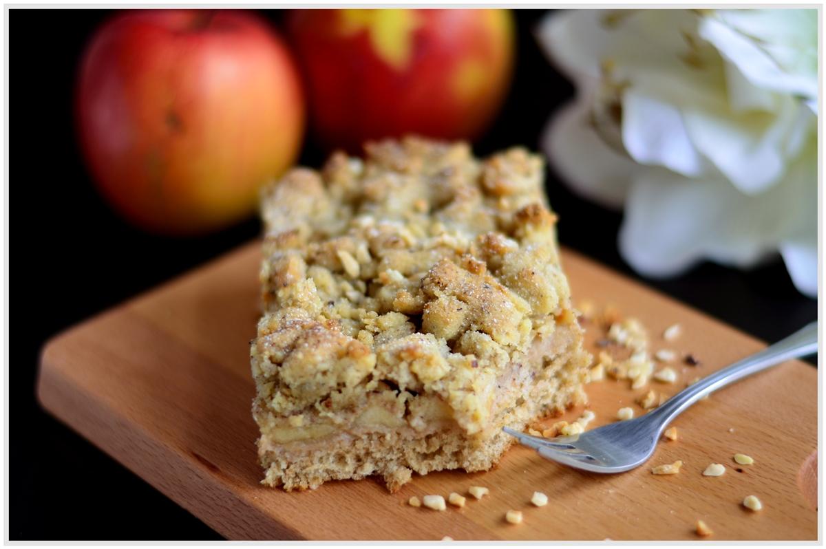 Apfelkuchen mit Streusel, Backvergnügen