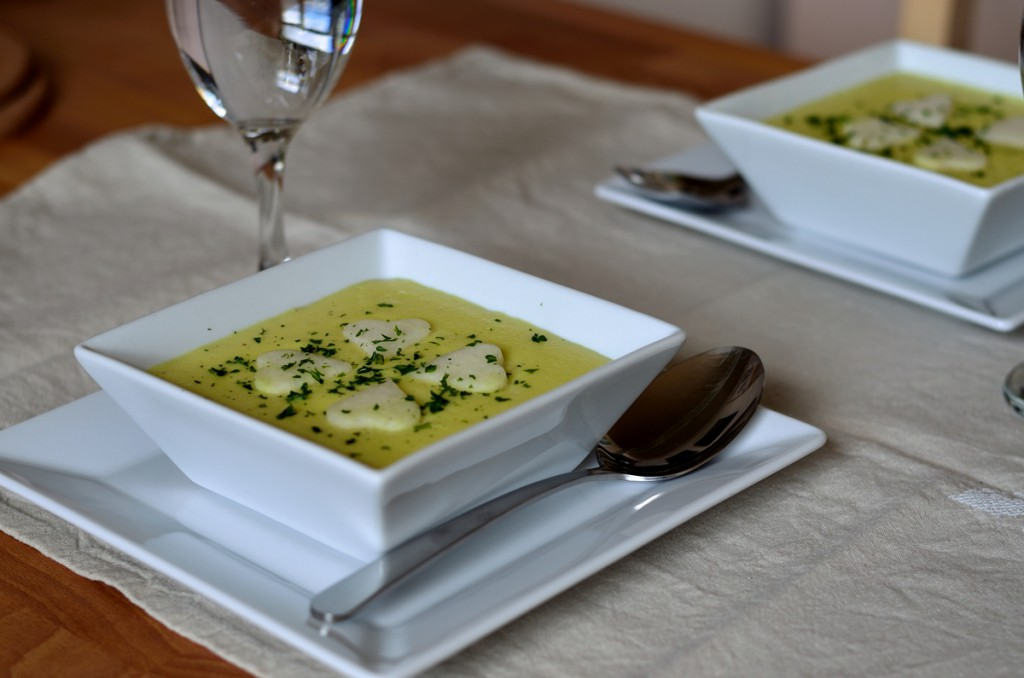 Cremige Gemüsesuppe, Suppenliebe, Montagsrezept
