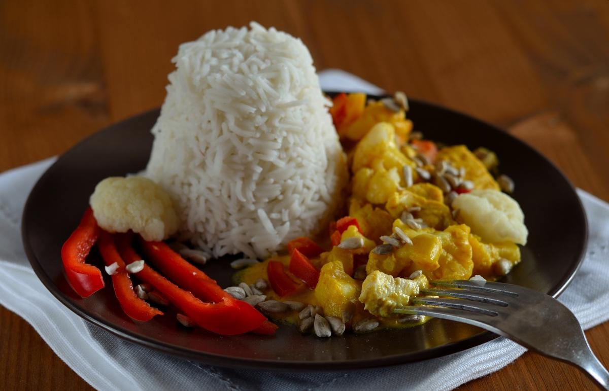 Hähnchen mit Curry, Montagsrezept, Curryliebe