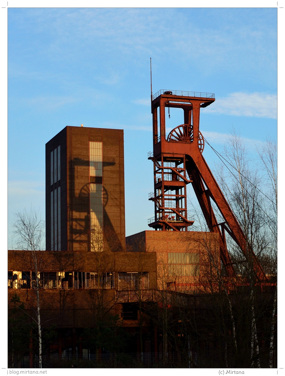 Förderturmliebe auf Zeche Zollverein