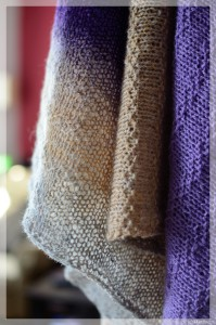 Less is More Shawl 01