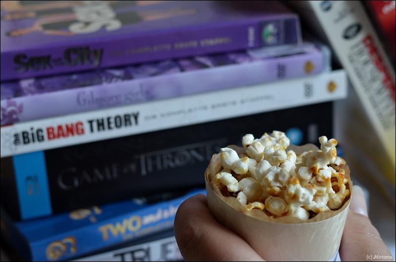 Serienblogparade, Serienparade, von der Liebe, Popcorn