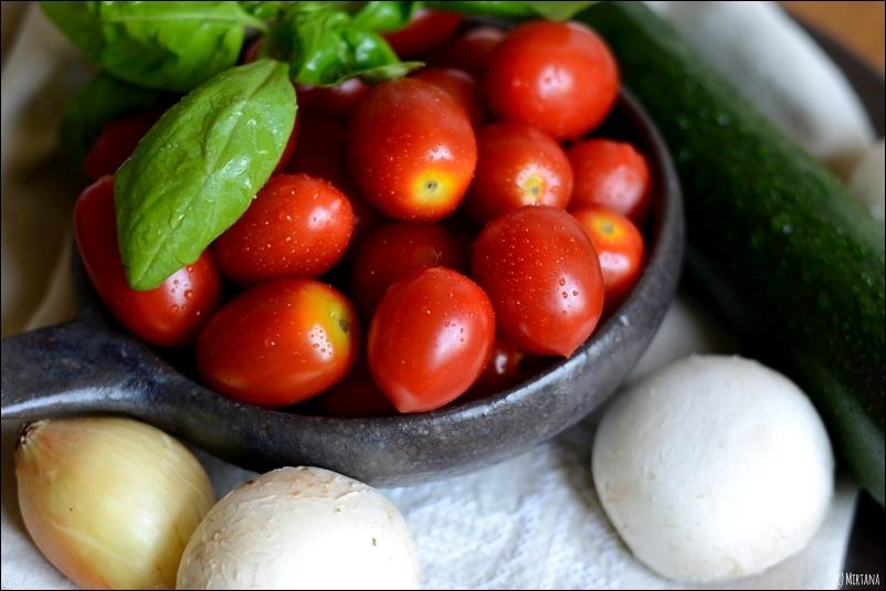 Knackiges Pfannengemüse mit Tortellini, Montagsrezept
