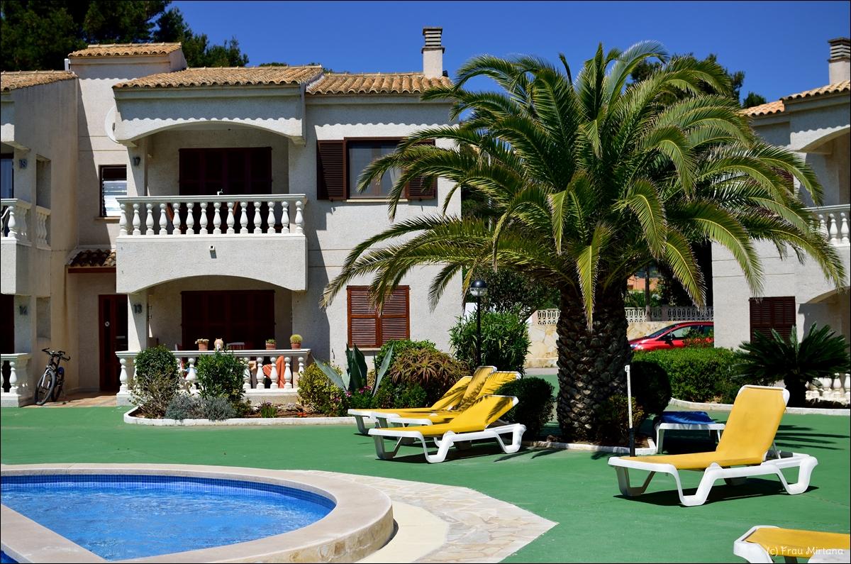 Auf Mallorca, Cala Ratjada, Apartmentanlage