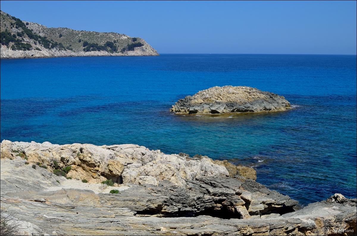 Auf Mallorca, Mittelmeer, Cala Agulla