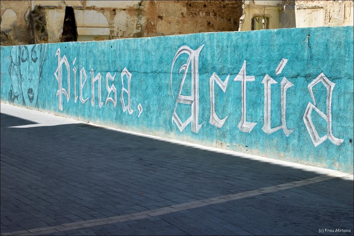 auf Mallorca, Inca, Streetart