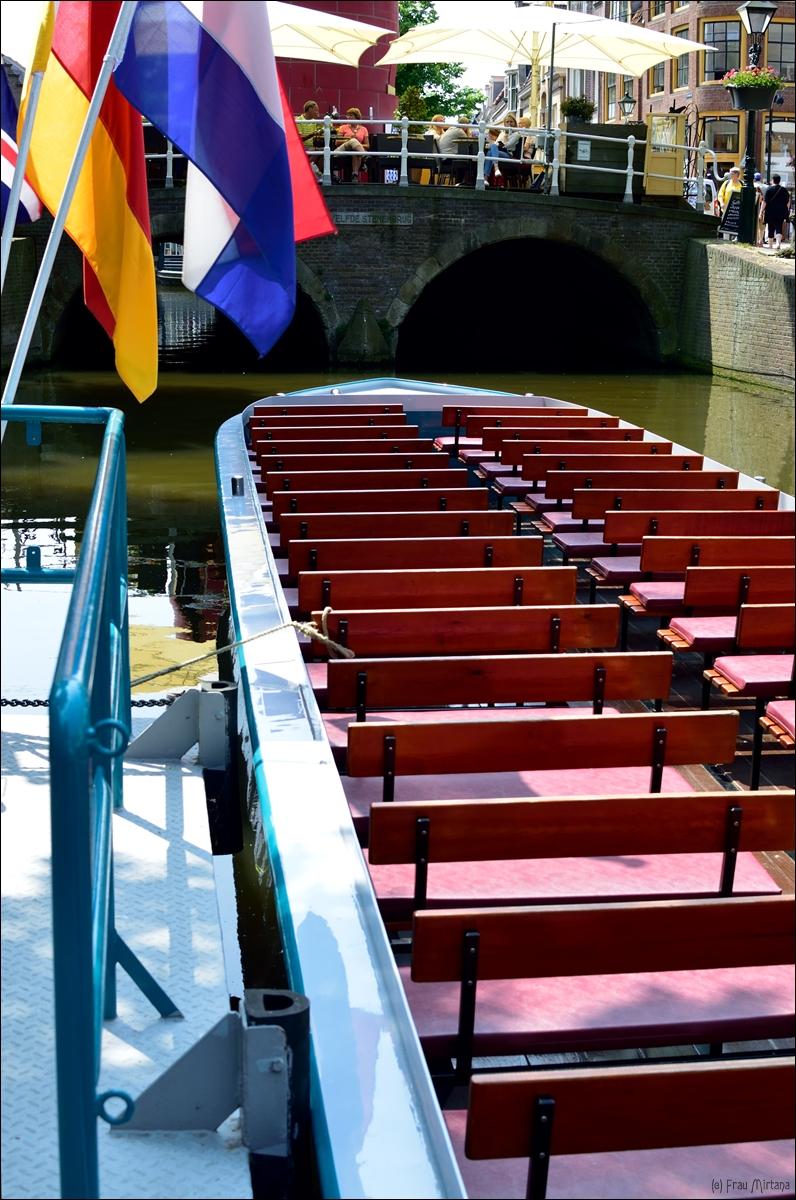 Unterwegs In Alkmaar Grachtenrundfahrt