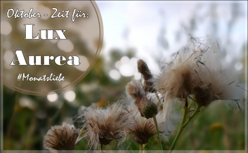Monatsliebe: Zeit für Lux Aurea im Oktober.