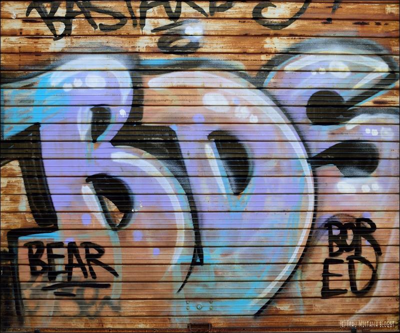 Graffiti Oristano Sardinien