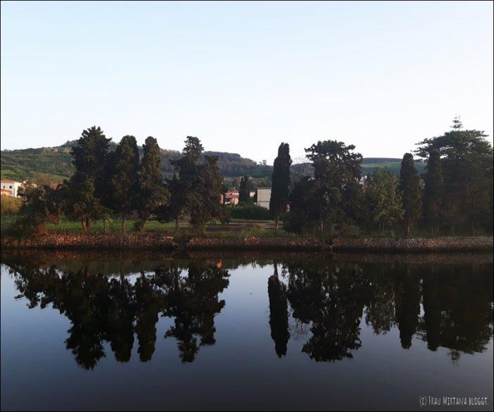 Flussufer Temo Bosa Sardinien