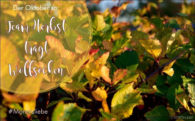 Monatsliebe: Team Herbst in Wollsocken!